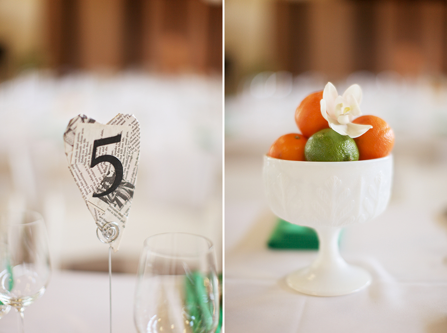 newspaper heart table number