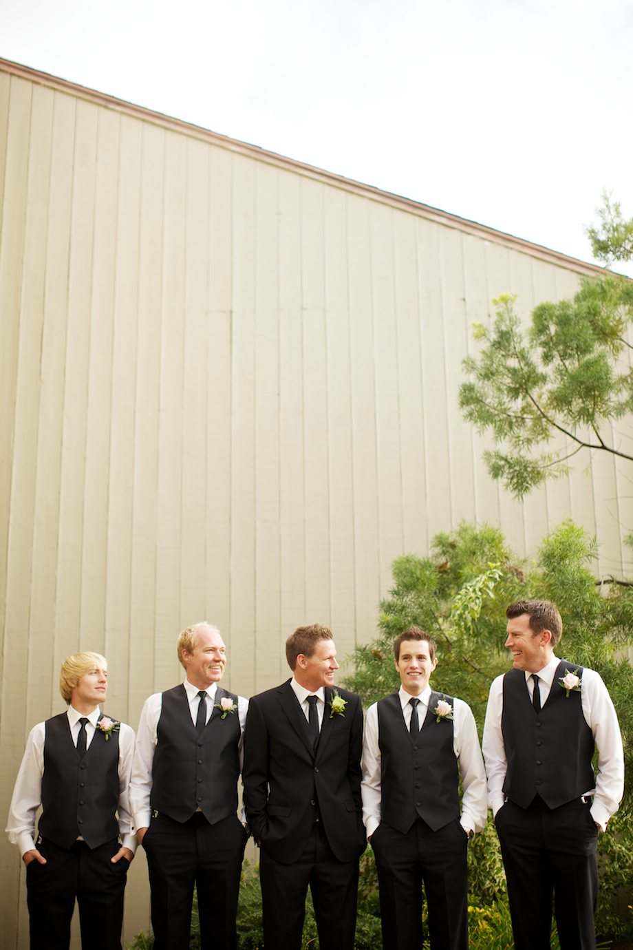 coto de caza wedding bridal party