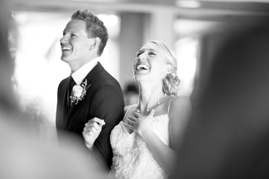 wedding ceremony joyful photograph