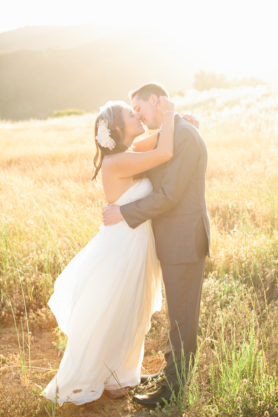 saratoga mountain winery wedding gem photo