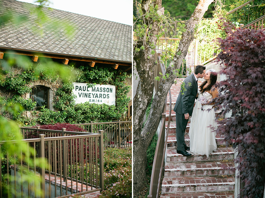 saratoga mountain winery wedding photos