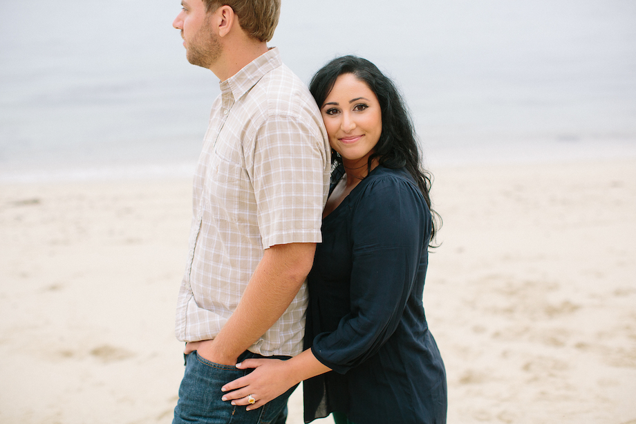 moss beach engagement photo emthegem