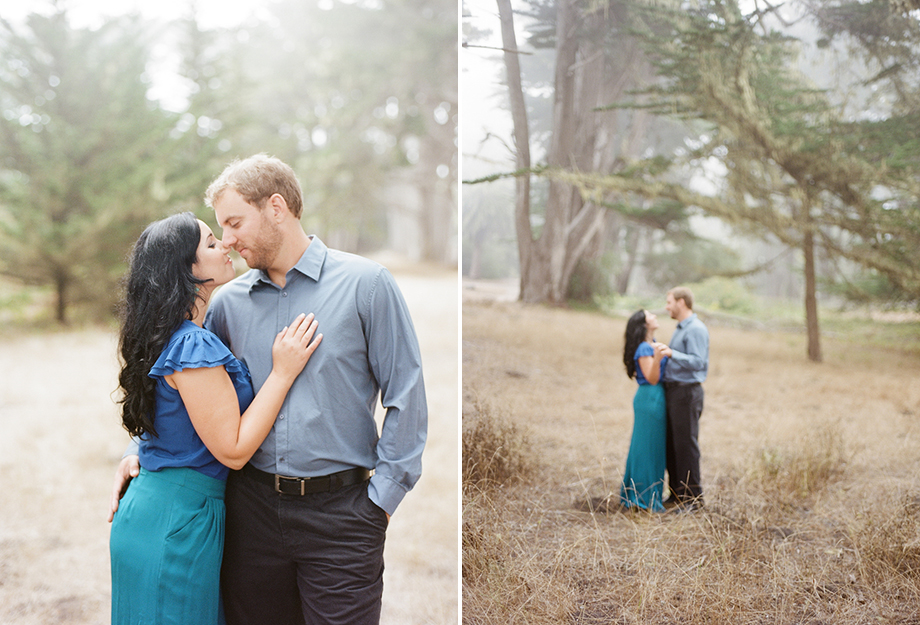 moss beach half moon bay film engagement photo emthegem