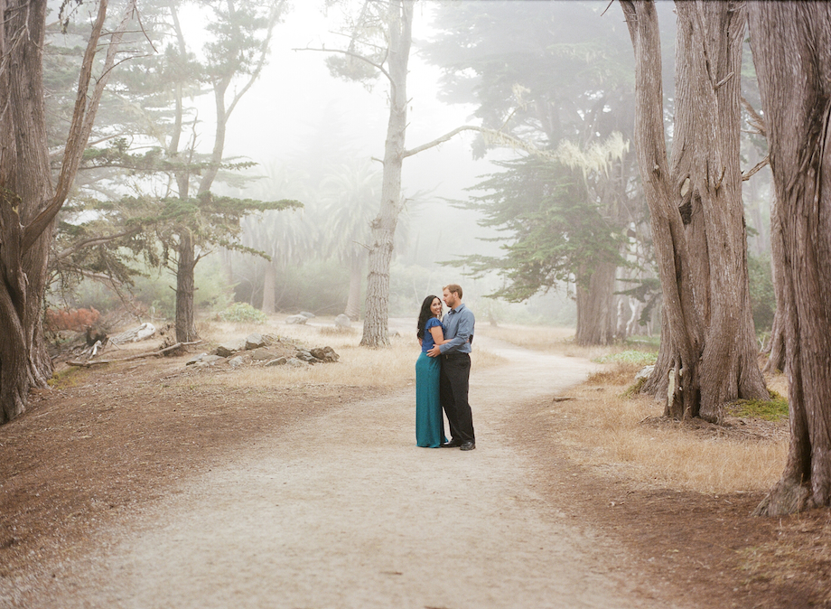 moss beach half moon bay engagement photo emthegem