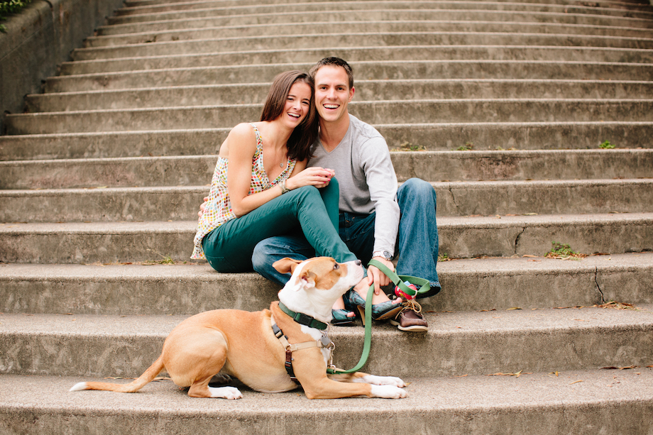 san francisco engagement gem photo