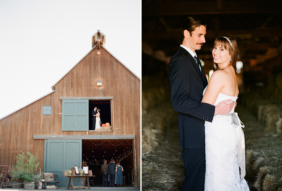 sonoma barn wedding reception