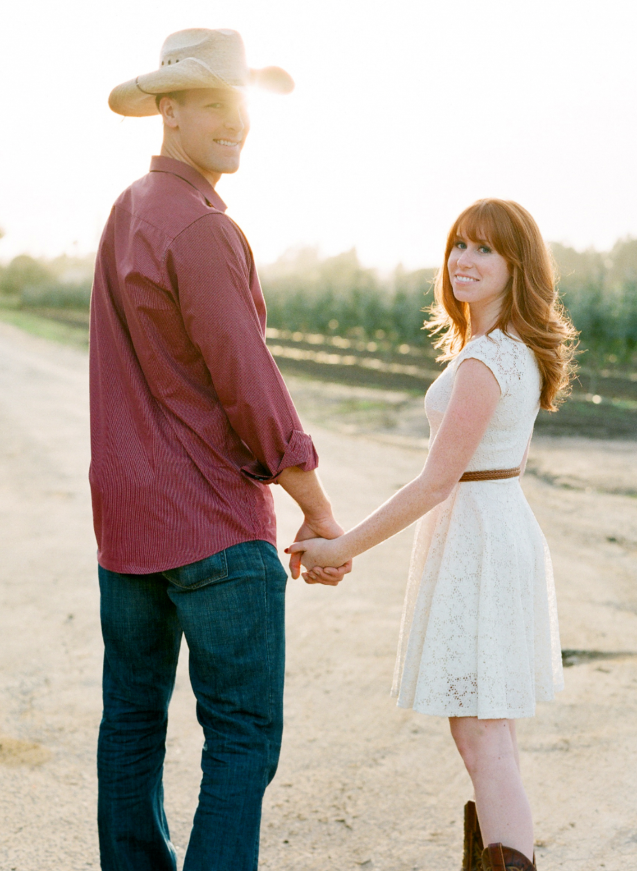apple ranch engagement photos film