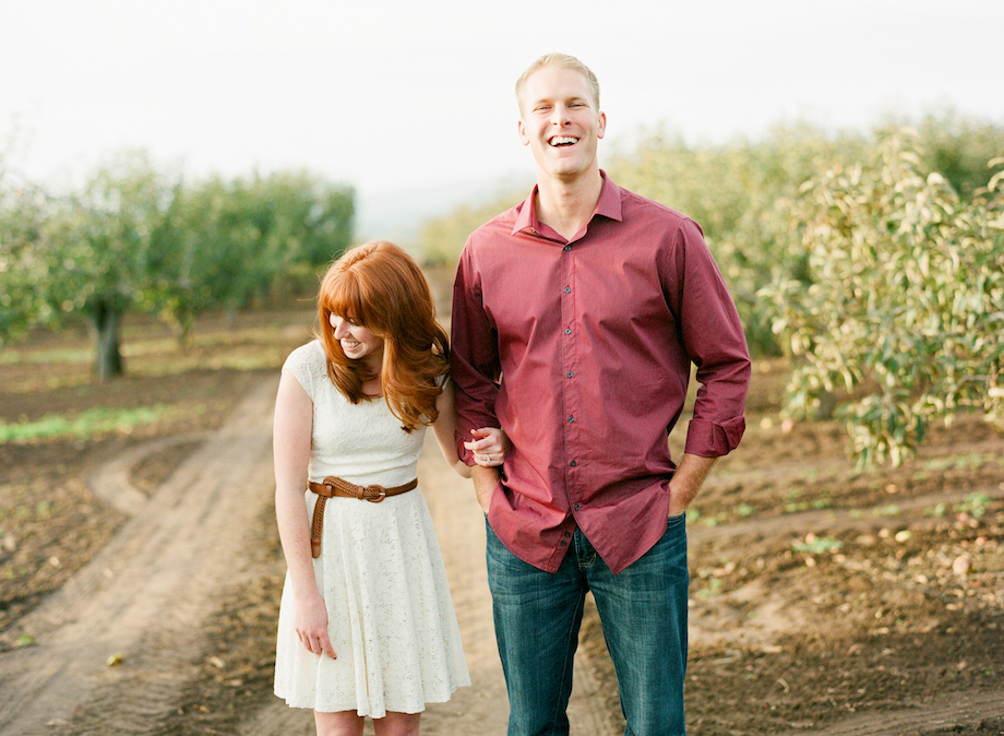 apple ranch engagement session film