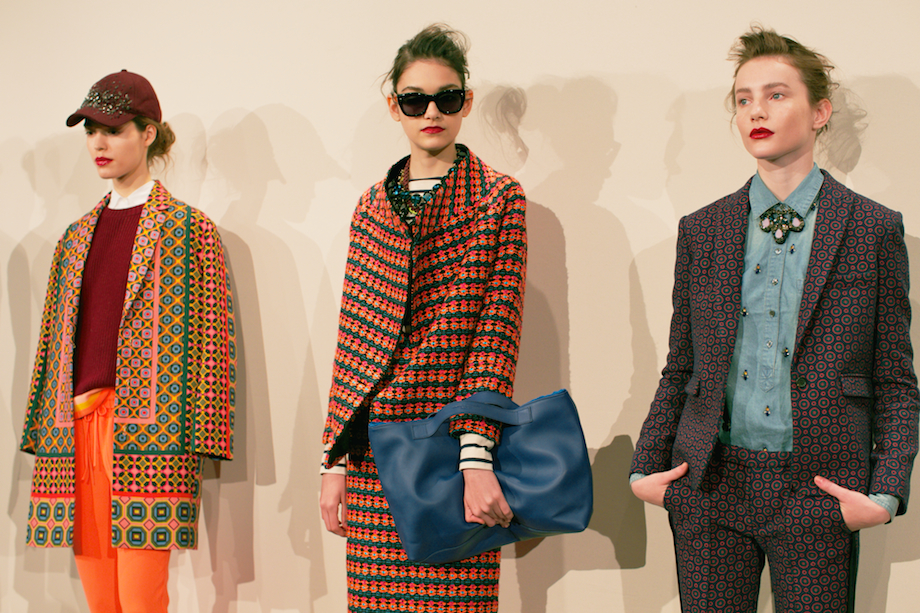 jcrew fall presentation 2013 new york fashion week