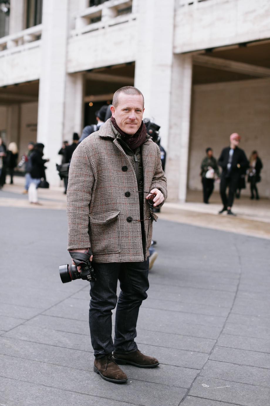 the sartorialist jcrew presentation