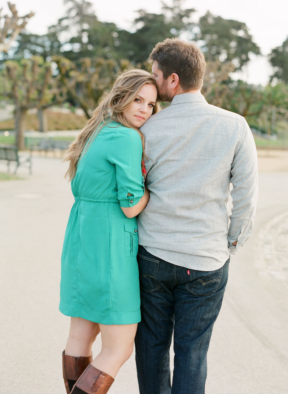 golden gate park engagement photographer