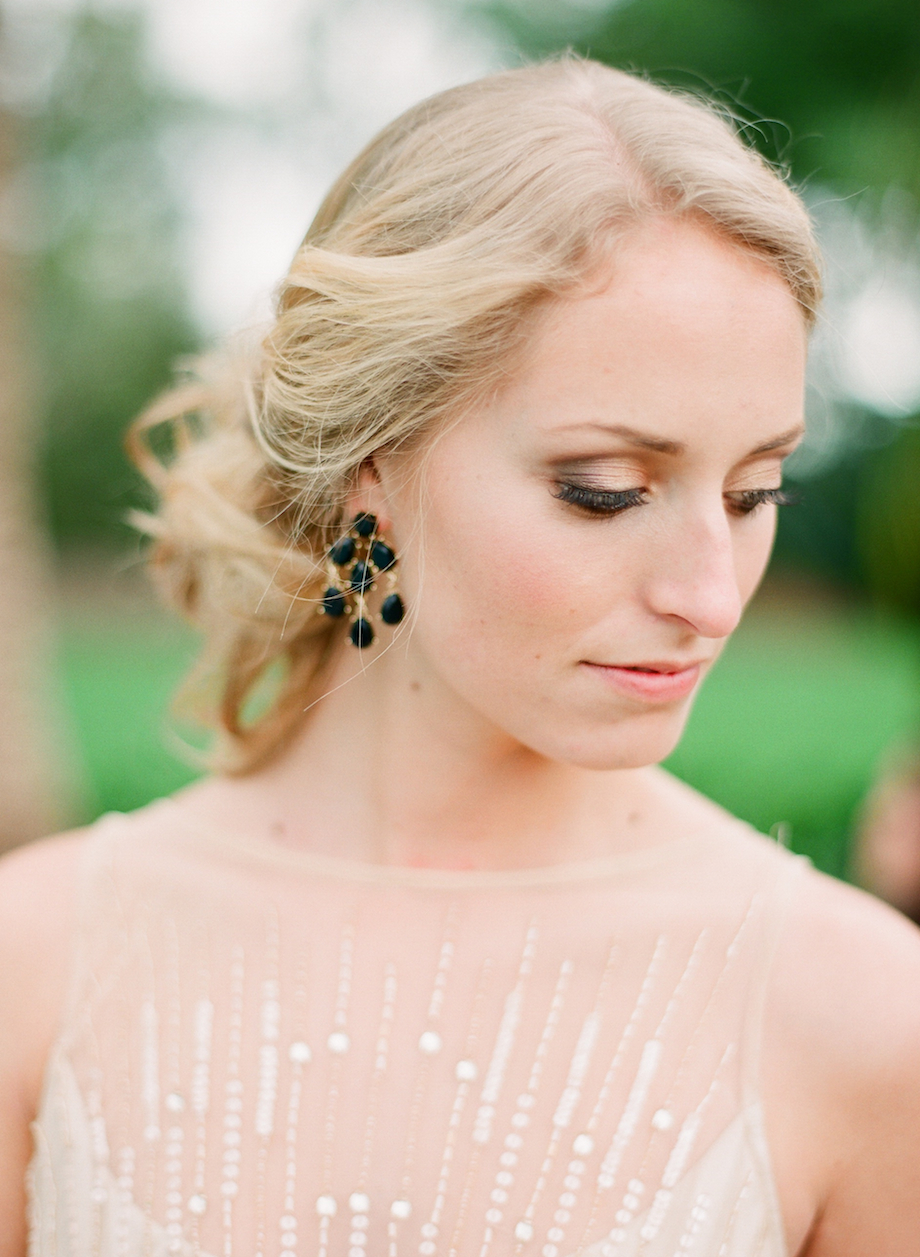 art deco wedding makeup inspiration