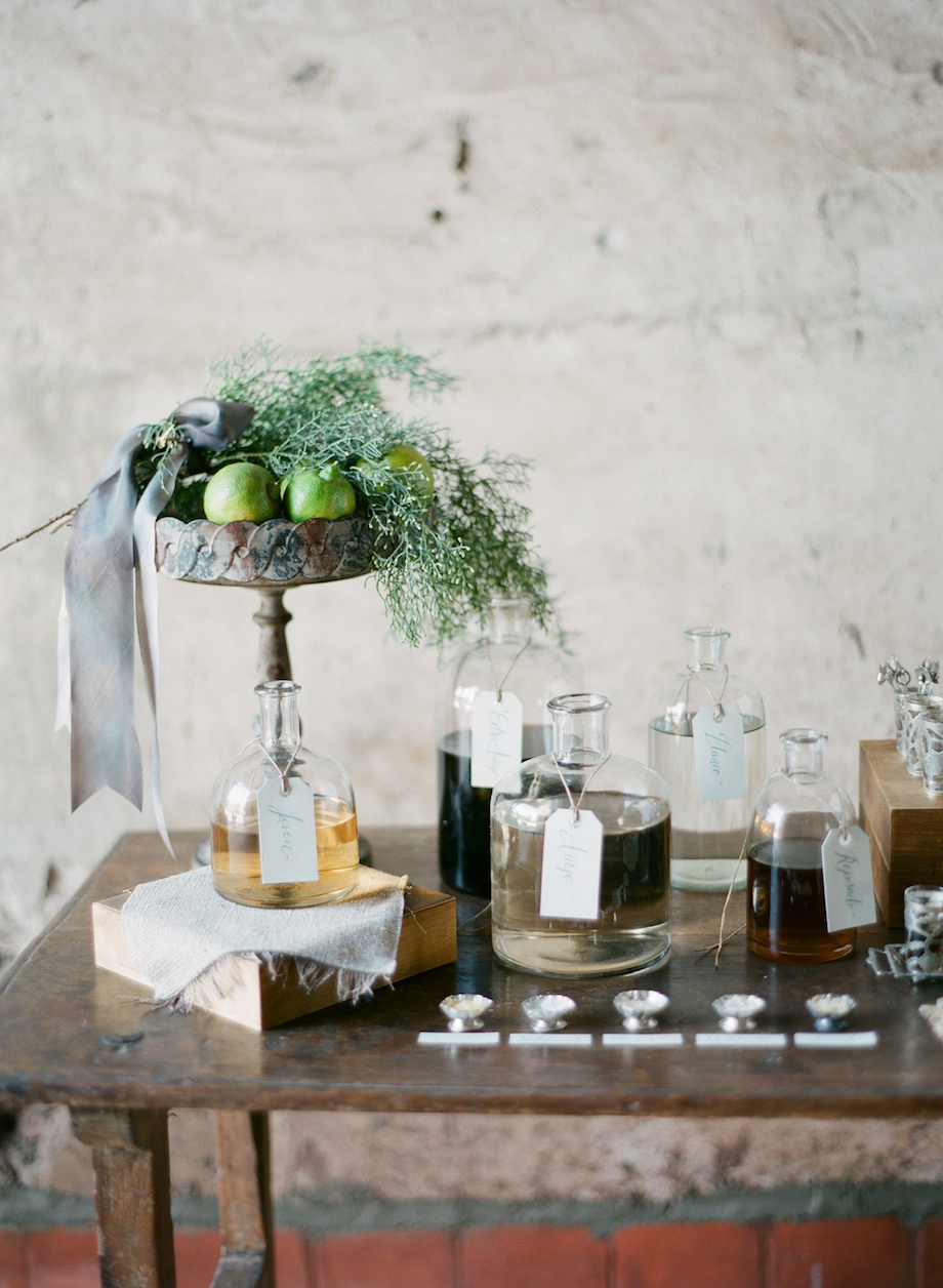 Tequila Bar // Mexico Hacienda Wedding Inspiration // Em the Gem